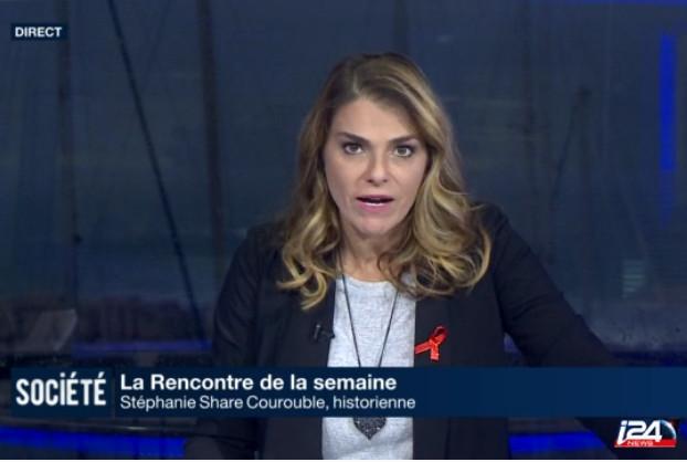 L'historienne Stéphanie Courouble Share parle de négationnisme sur I24