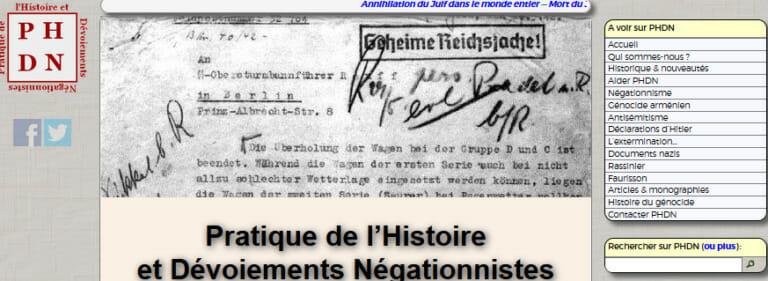 Le 6 juin 1944 et les méthodes négationnistes