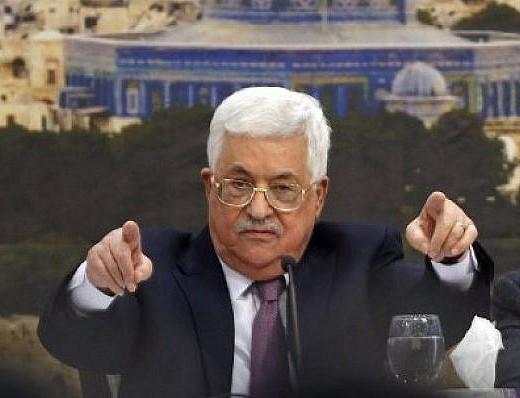 Est-ce que le président de l'Autorité palestinienne, Mahmoud Abbas, est négationniste ?