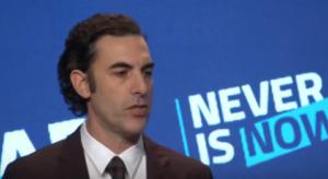 Sacha Baron Cohen fustige les réseaux sociaux de propager la haine, le négationnisme et le conspirationnisme